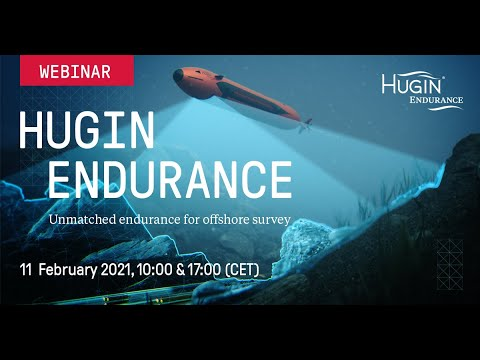 Webinar -  HUGIN Endurance