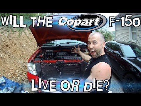 Will the copart 2005 f 150 run again