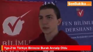 2015 YGS Türkiye 1.si Burak Arınalp ile röportajımız