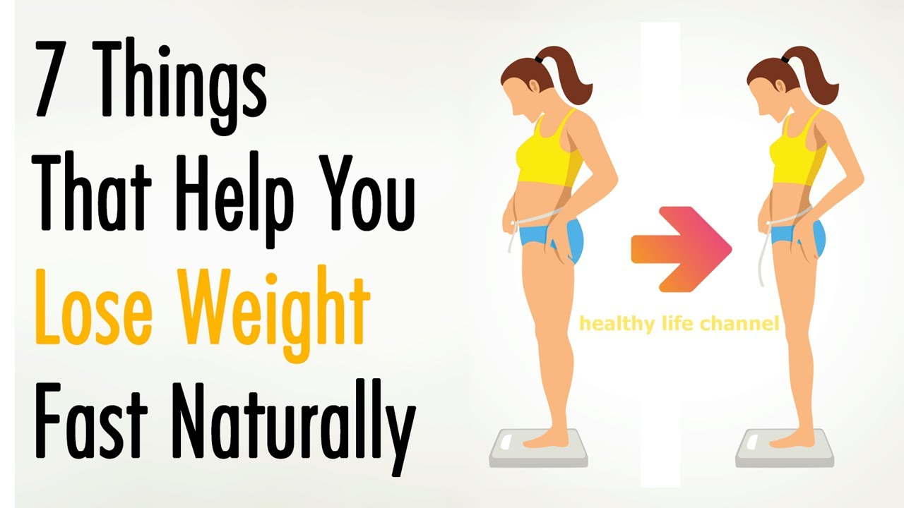 FUN FACT ! 7 THINGS YOU CAN DO TO LOSE WEIGHT NATURALLY #1