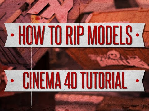 How to Get Black Ops 2 Models in C4D - Tutorial