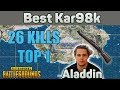 Best Kar98k EU - Aladdin 26 Kills SOLO TPP [EU] - PUBG Highlights Top 1 #12