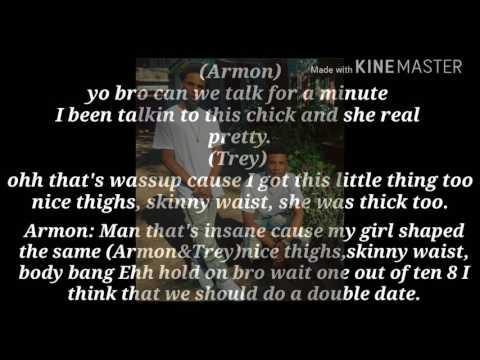 Armon and Trey so gone challenge lyrics