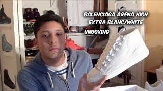 Balenciaga Arena High Extra Blanc/White | Unboxing | First Impressions  |@ferrangel21 | #DC21