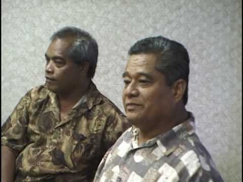 The President Of The Federated States Of Micronesia Meets With Mau Piailug And The Crew Of Makali`i