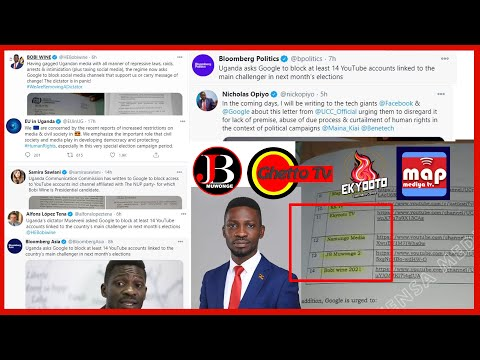 BOBIWINE, EUROPEAN UNION, INTERNATIONAL MEDIA ETC SPEAK OUT ON THE ISSUE OF BLOCKING OUR PLATFROMS