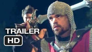Knights Of Badassdom Official Trailer #1 (2013) - Peter Dinklage LARP Movie HD