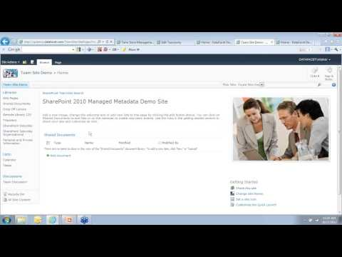 """""""Managed Metadata 101: Taxonomies and Tagging in SharePoint 2010"""" WAND Webinar 2012-10-17"""