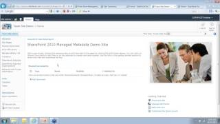 """Managed Metadata 101: Taxonomies and Tagging in SharePoint 2010"" WAND Webinar 2012-10-17"
