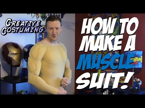 How to Make a Muscle Suit! - by Creative Costuming