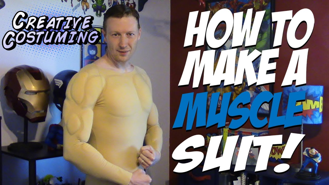 how to make a muscle suit by creative costuming youtube