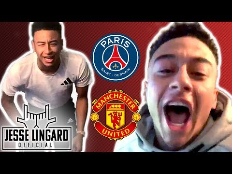 PSG 1-3 Man United | JESSE REACTS, United Through to Quarter Finals! | Jesse Lingard