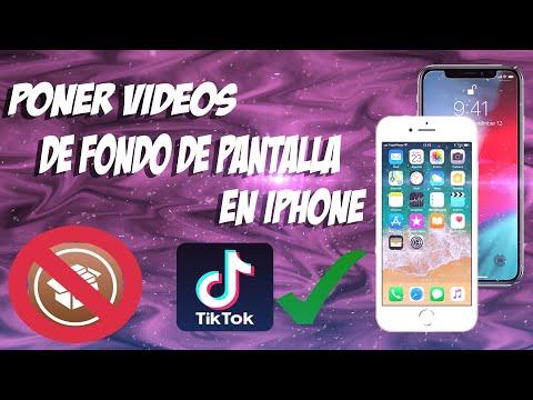 PONER VIDEOS DE FONDO DE PANTALLA EN IPHONE | NO JAILBREAK