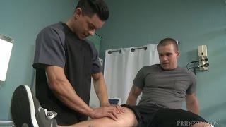 Gay Hunk Visits Hot Gay Doctor