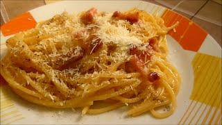 Spaghetti Carbonara Recipe Pasta Carbonara #italianfood