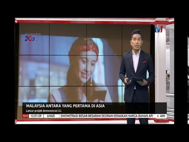 S12-MALAYSIA ANTARA YANG PERTAMA DI ASIA-LANCAR PROJEK DEMONSTRASI 5G [6 OKT 2019] #1