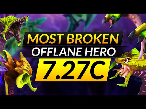 How to MASTER The MOST BROKEN Offlane Hero: VENOMANCER Tips – Dota 2 Patch 7.27c Guide