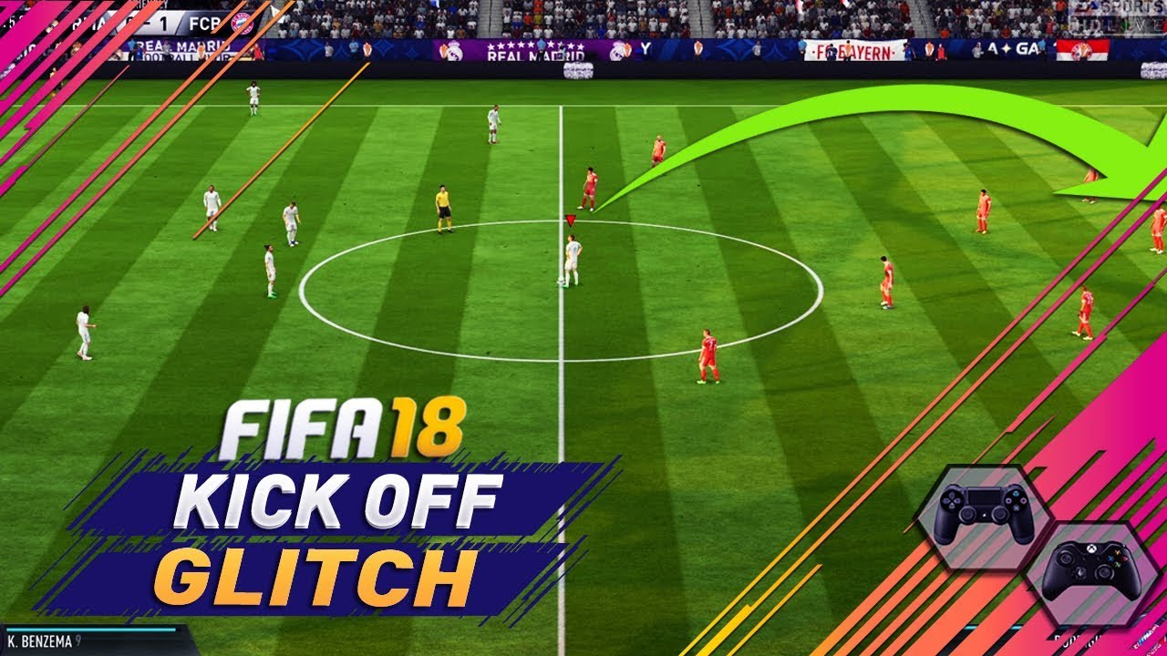 Loads of FIFA 18 players are scoring straight from kick-off