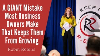 A GIANT Mistake Most Business …