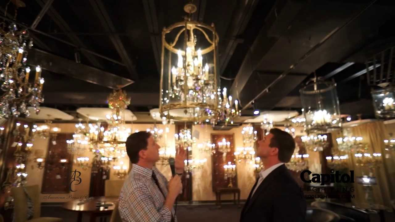 Dallas Lighting Market June 2013 Lantern from American Brass – American Brass and Crystal Chandeliers