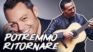 POTREMMO RITORNARE - TIZIANO FERRO - Accordi Chitarra - Tutorial