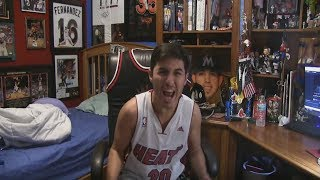 Die hard miami heat fan reacts to dwyane wade signing with the cleveland cavaliers