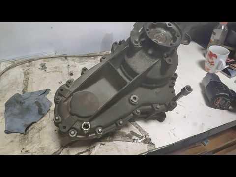 Как снять раздаточную коробку Mercedes ML W164