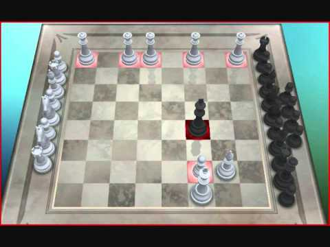 Chess Titans Chess with multiple layouts and a collection of classic games