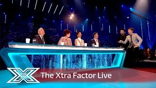 After Emily's exit, Matt and Rylan chat to The Judges | The Xtra Factor Live 2016