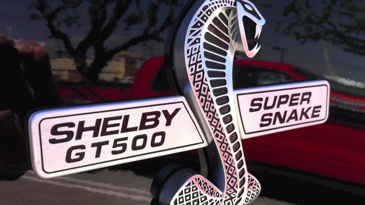 2012 shelby cobra mustang
