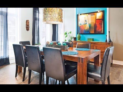 Elementos decorativos para el comedor - Ideas para decorar un comedor - TIPS