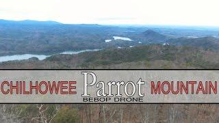 PARROT BEBOP DRONE - Chilhowee Mountain - McKamy Lake - Ocoee Lake aka Parksville Lake