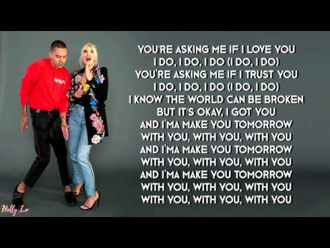 Ashlee & Evan - I Do (with LYRICS)