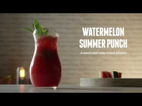How to make Watermelon Summer Punch | Cocktail Recipes