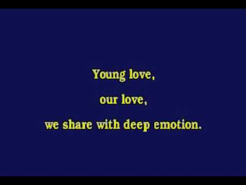 Jv0008 03   James, Sonny   Young Love [karaoke]