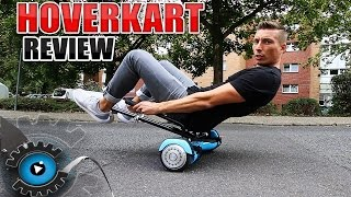 HOVERBOARD WHEELIE MÖGLICH? HoverKart [Review/Deutsch]