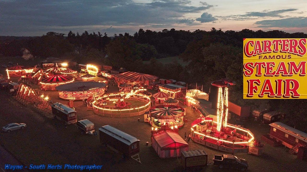 Carter S Steam Fair Uk 4k Aerial Drone Video Youtube