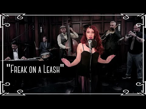 """Freak on a Leash"" (Korn) Swing Cover by Robyn Adele Anderson"