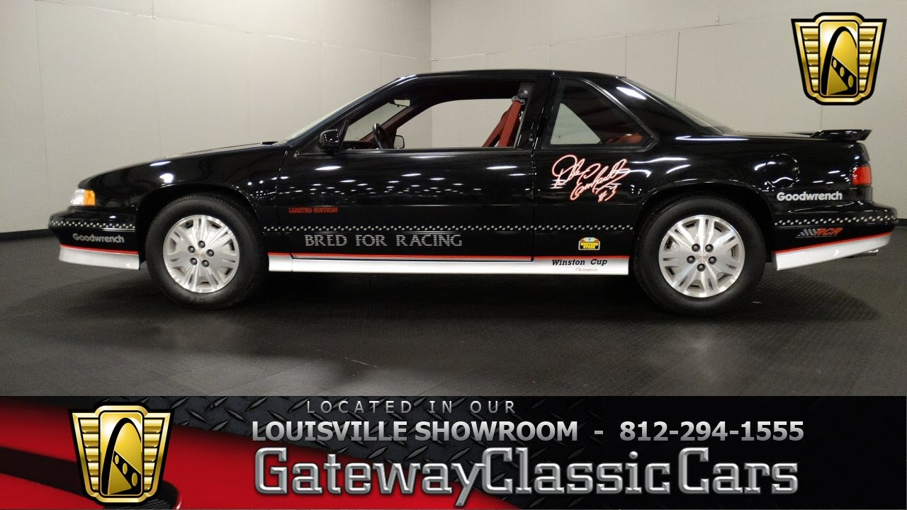 small resolution of 1992 chevrolet lumina z34 dale earnhardt edition louisville showroom stock 1144 youtube