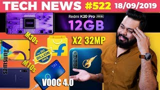 Redmi K20 Pro w/ 12GB, Realme X2 32MP Cam, Galaxy M30s \u0026 M10s, VOOC 4.0, Flipkart BBD Deals-TTN#522