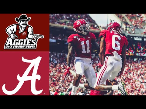 Bama Sports - #2 Alabama-62 New Mexico State-10 | Recap & Highlights