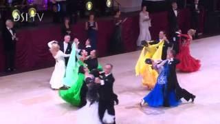 Over 50s Ballroom Highlights - Blackpool Dance Festival 2016