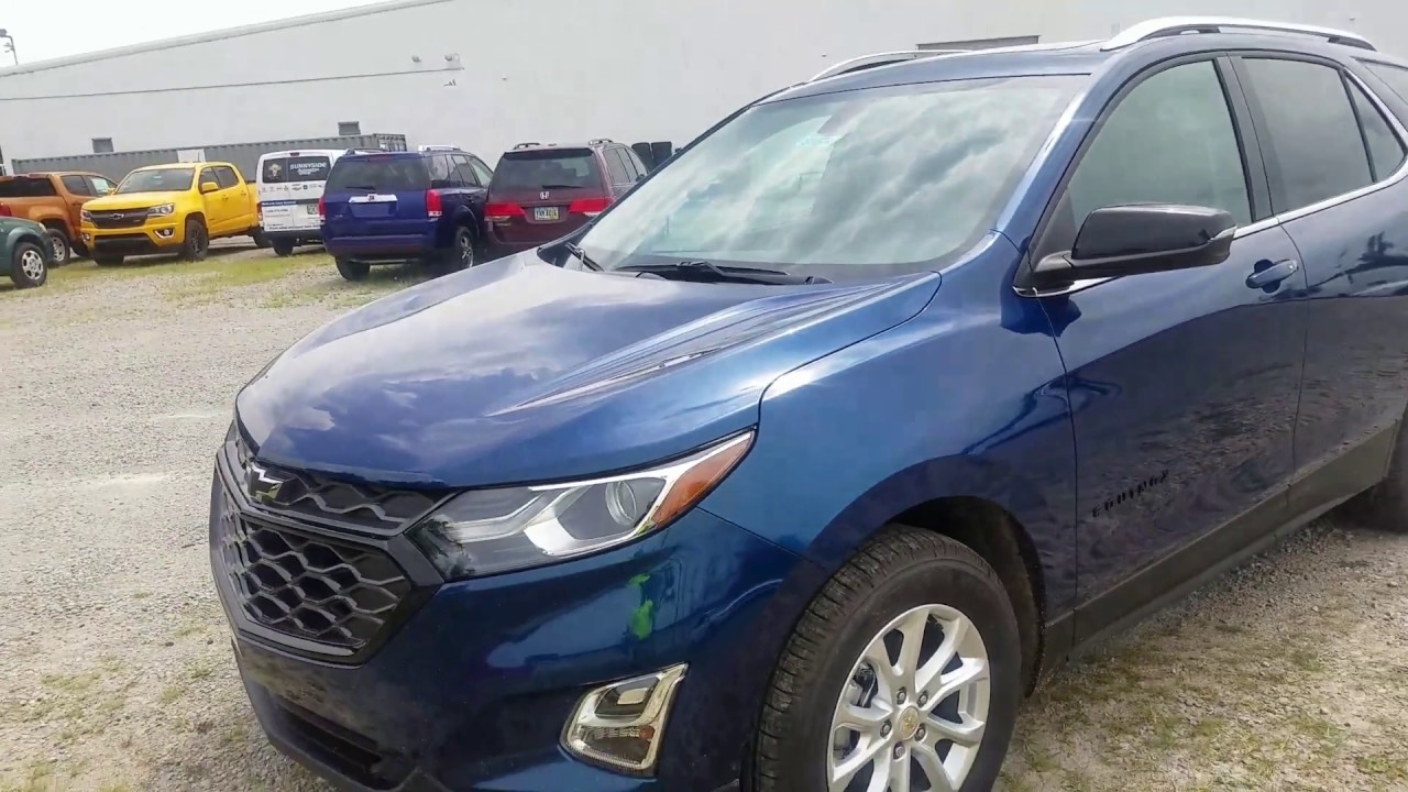 2019 Chevy EQUINOX 1.5 LT FWD Pacific Blue - QUICK REVIEW ...