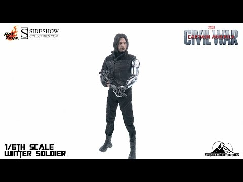 Optibotimus Review:  Hot Toys Captain America Civil War WINTER SOLDIER
