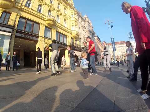 After Rueda Flash Mob - Zagreb