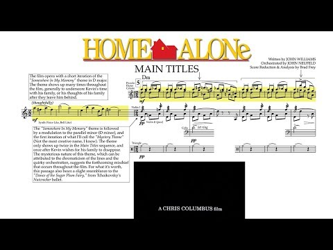 """[1/5] """"Main Titles"""" - Home Alone (Score Reduction & Analysis)"""