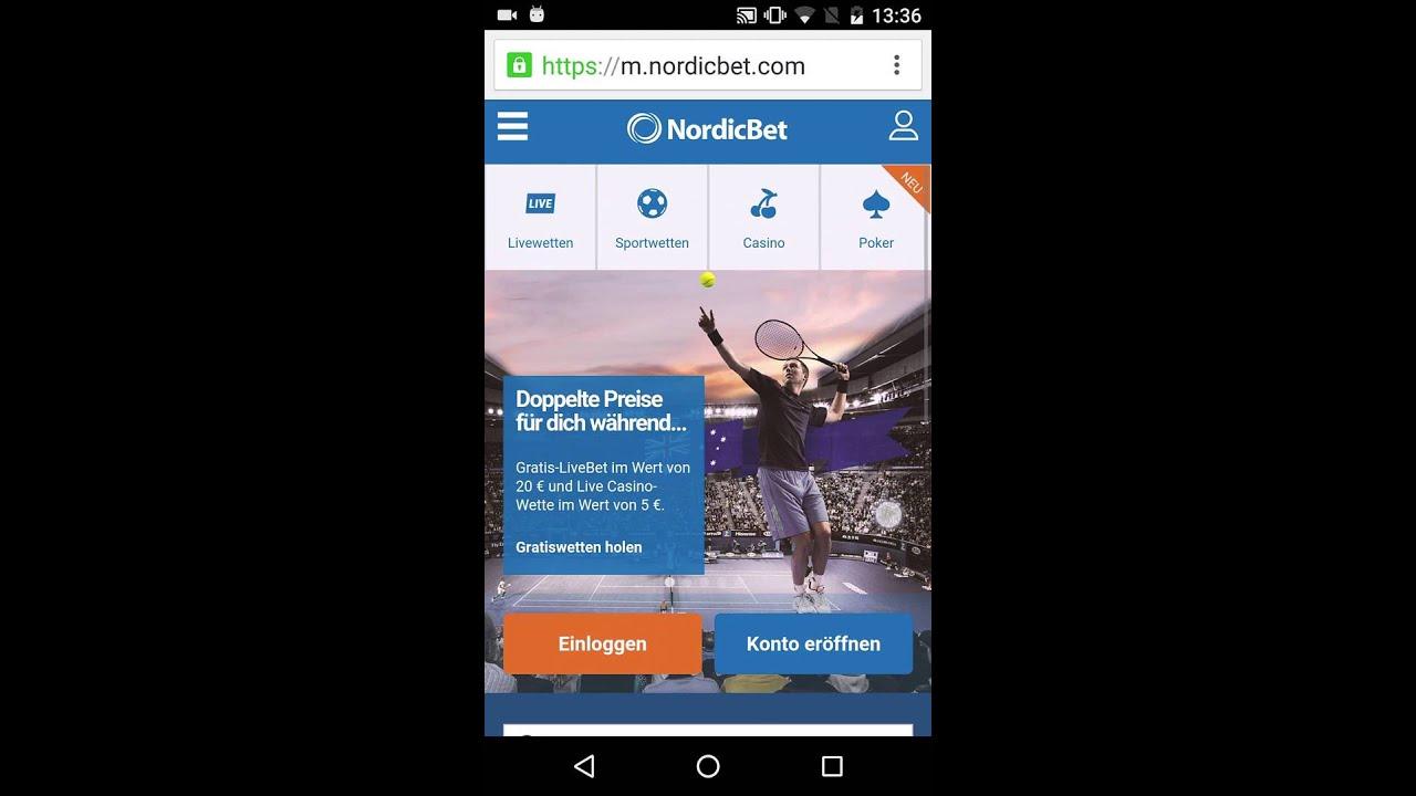 Nordicbet Mobile