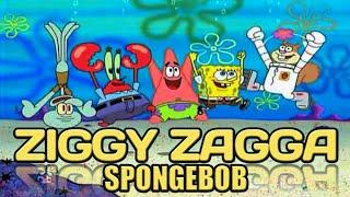 Spongebob nyanyi lagu ZIGGY ZAGGA  gen halilintar TERBARU