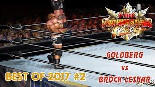 Brock Lesnar vs Goldberg (Fire Pro Wrestling World)