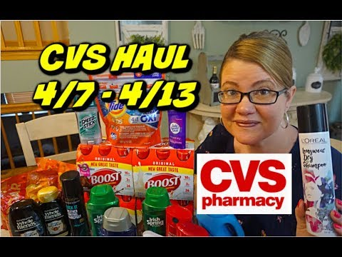 CVS HAUL 4/7 – 4/13 | EPIC HAUL WITH 🔥 FREEBIES & MORE!!!